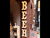 BAR & BEERSHOP TAP & GROWLER様 Sundaysマーキーライト製作事例
